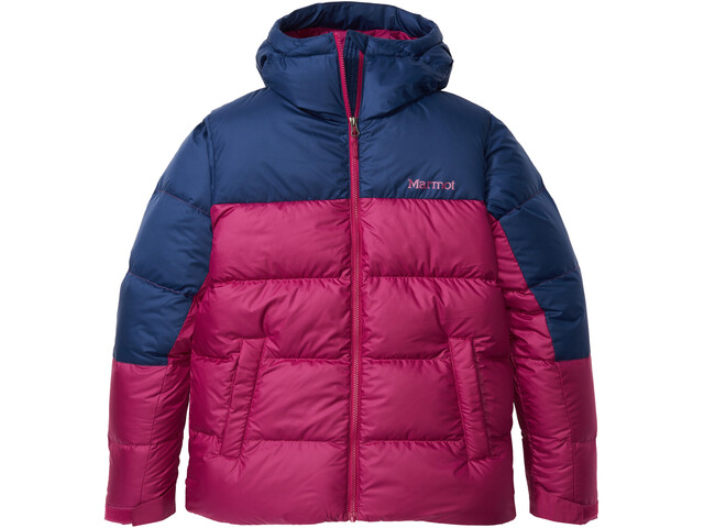 Marmot Guides Giacca In Piumino Donna, wild rose/arctic navy